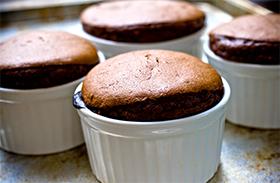 csoki szuflé recept