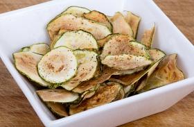 Cukkini chips