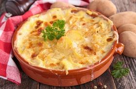 Darált húsos rakott krumpli