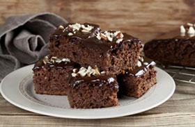 Diós brownie