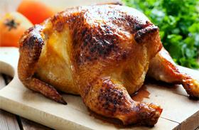 Egy órás sült csirke recept