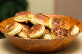 Élesztős krumplis pogács