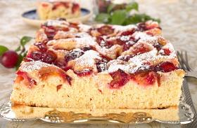 Fahéjas-szilvás süti recept