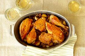 Mediterrán, spanyol csirke