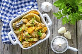 Fűszeres-szaftos csirke