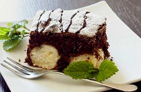 Gluténmentes kókuszos süti