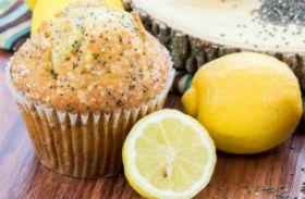 Gluténmentes mákos muffin