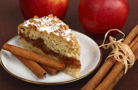 Gluténmentes almás süti