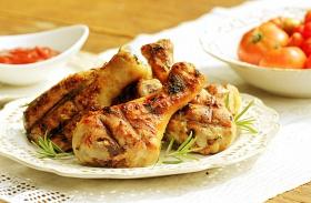 Grillezett csirkecomb