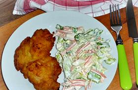 Karaj krumplibundában