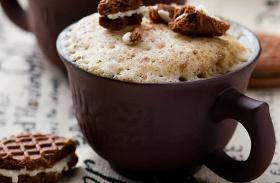 5 perces kávés bögrés süti