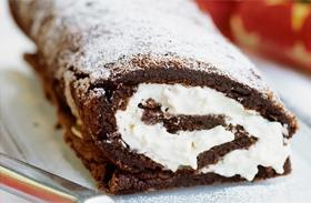 Csodás kókuszkrémes fatörzs - Igazi karácsonyi süti