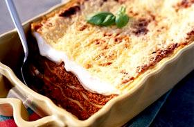 Marhahúsos lasagne