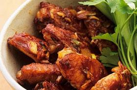 Mustáros csirkeszárny: fűszeres és ropogós