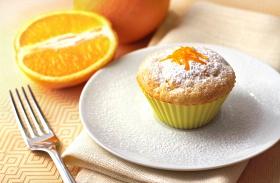 Narancsos-túrós muffin