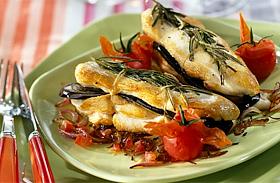 Padlizsánnal töltött omlós csirkemell - Mesés fogás ebédre