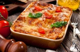 Paradicsomos-csirkés lasagne