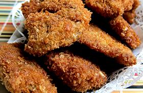 Rántott csirkemell parmezános bundában recept