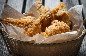 Pikáns rántott csirkeszárny