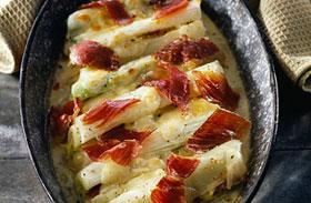 Rakott hagyma sok sajttal - Sonkával még finomabb!