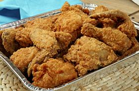 Rántott csirke sütőben