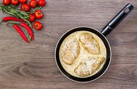 Sajtos-mustáros csirkemell