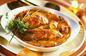 Sajtos csirkepaprikás - Régi fogás új köntösben