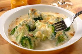Sajtos rakott brokkoli - Fél óra alatt kész a vacsora