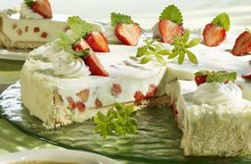 Sütésmentes mascarpone-torta