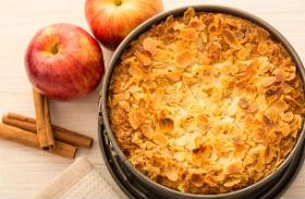 Svéd almás pite