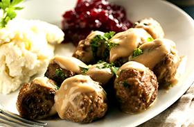 Svéd húsgolyó recept