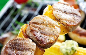 Szaftos, zöldséges saslik receptek - Grillen és sütőben