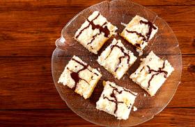 Tejszínes-kókuszos süti