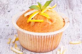 Túrós, citromos muffin