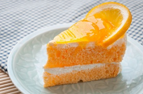 Vaníliakrémes narancstorta