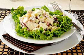 Waldorf saláta recept