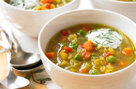 Pikáns, currys borsóleves - Különleges, keleties fogás