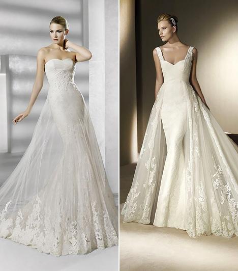 A legszebb esküvői ruhák 2012-ben