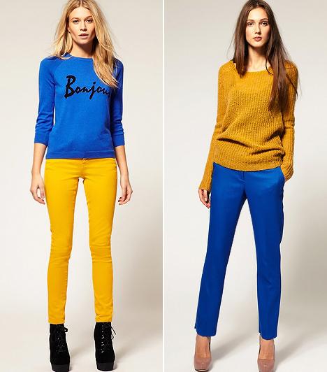 Így viseld a colour blocking trendet, bakik nélkül!