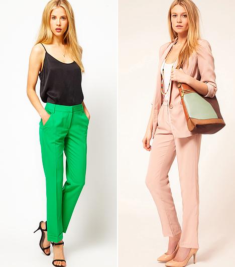 Így viseld a színes nadrágot, ha nagy a popsid és széles a csípőd