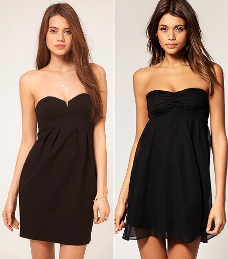 Karcsúsító kis fekete ruhák