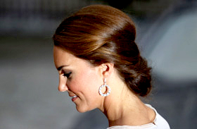 Kate Middleton frizurái