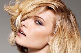Laza, nőies frizurák