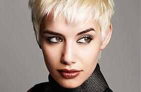 Rövid nőies frizurák
