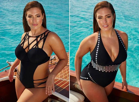 A Swimsuit for All oldalán a termékek fotói között olyan híres ducimodellek is feltűnnek, mint Ashley Graham, aki a molett nőket régóta sikeresen képviseli a divatszakmában. Itt többet is olvashatsz róla!