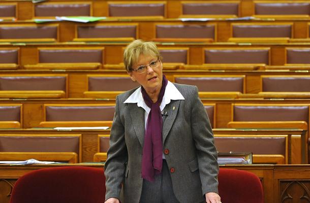 Hoffmann Rózsa oktatási államtitkár, MTI fotó