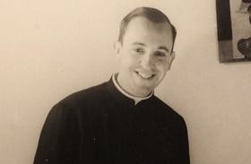 Ferenc pápa fiatalon