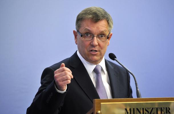 Matolcsy György, Fotó: MTI