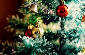 Karácsonyi fények az Andrássy úton