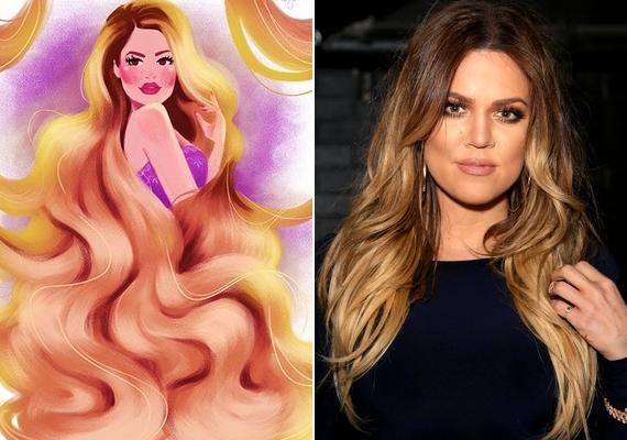 Aranyhaj mint Khloe Kardashian.